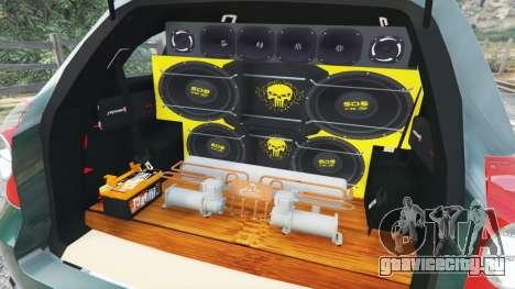 Chevrolet Captiva 2010 для GTA 5 вид спереди справа