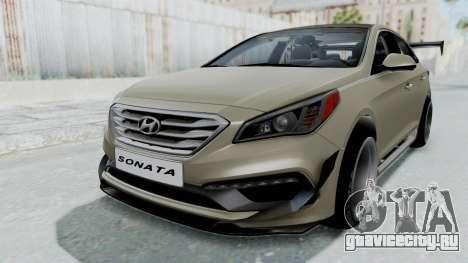 Hyundai Sonata LF 2.0T 2015 v1.0 Rocket Bunny для GTA San Andreas