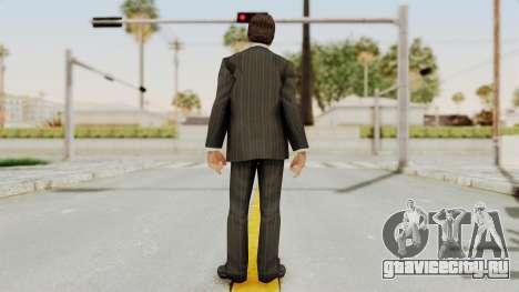 Scarface Tony Montana Suit v2 для GTA San Andreas третий скриншот