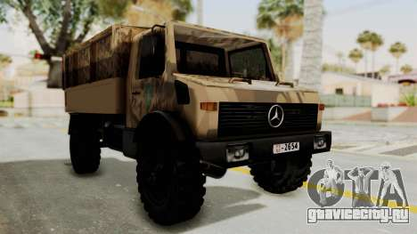 Mercedes-Benz Vojno Vozilo для GTA San Andreas вид справа