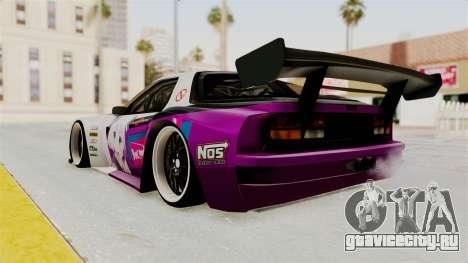 Mazda RX-7 FC Itasha для GTA San Andreas вид слева