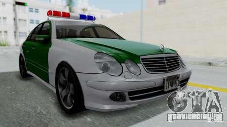 Mercedes-Benz E500 Police для GTA San Andreas