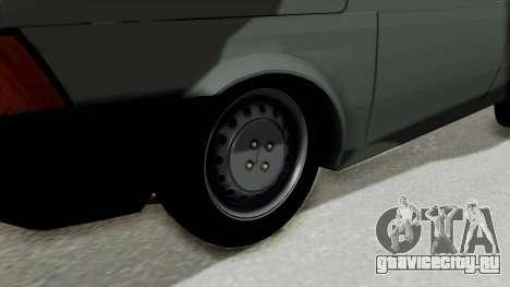 Fiat 147 Vivace для GTA San Andreas вид сзади