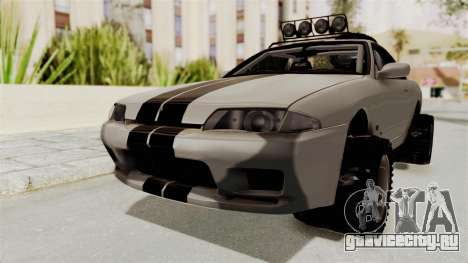 Nissan Skyline R32 Rusty Rebel для GTA San Andreas вид справа