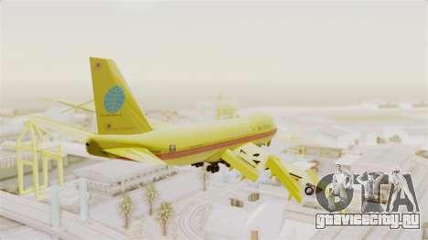 Boeing 747-200 Trans San Andreas Air для GTA San Andreas вид справа