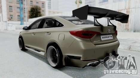 Hyundai Sonata LF 2.0T 2015 v1.0 Rocket Bunny для GTA San Andreas вид слева