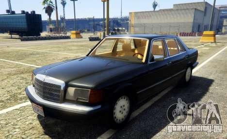 1987 Mercedes-Benz 560SEL для GTA 5