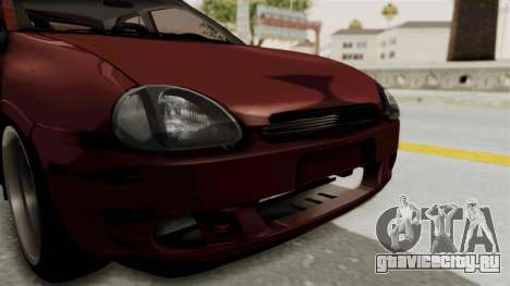Chevrolet Corsa Hatchback Tuning v1 для GTA San Andreas вид сбоку