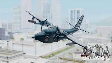 Grumman HU-16 Albatross для GTA San Andreas вид сзади слева