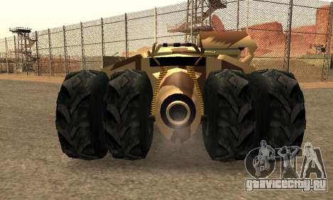 Army Tumbler Rocket Launcher from TDKR для GTA San Andreas салон