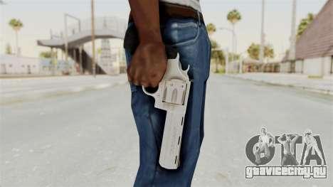 Colt .357 Silver для GTA San Andreas третий скриншот