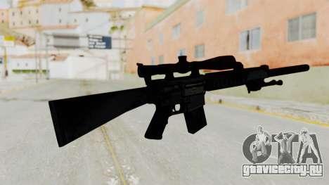 SR-25 для GTA San Andreas второй скриншот