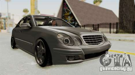 Mercedes-Benz E320 для GTA San Andreas вид справа