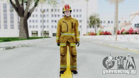 GTA 5 Fireman LV для GTA San Andreas второй скриншот
