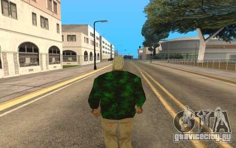 Grove Street Gang Member для GTA San Andreas второй скриншот