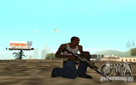 Golden weapon pack для GTA San Andreas шестой скриншот