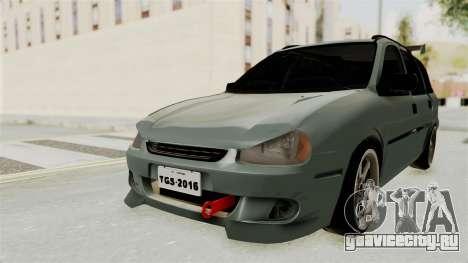 Chevrolet Corsa Wagon Tuning для GTA San Andreas вид сзади слева