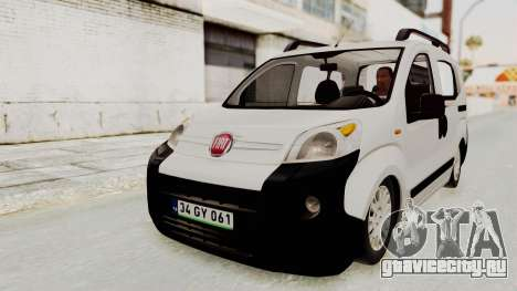 Fiat Fiorino 2014 для GTA San Andreas вид справа