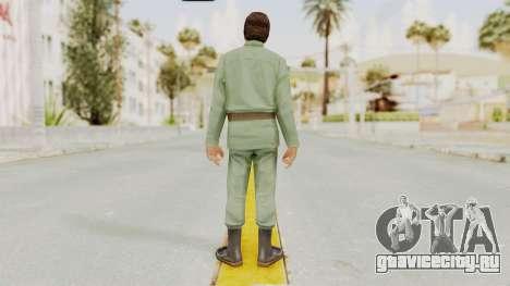 Scarface Tony Montana Army Costume для GTA San Andreas третий скриншот