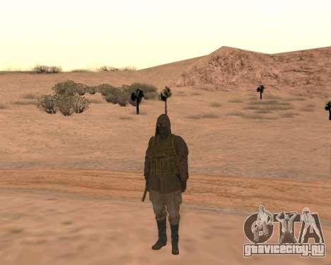 Soviet Sniper для GTA San Andreas пятый скриншот