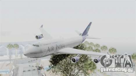 Boeing 747-400 Air India для GTA San Andreas