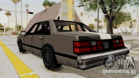 Stanier Turbo для GTA San Andreas вид слева