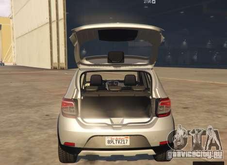 Dacia Sandero Stepway 2014 для GTA 5