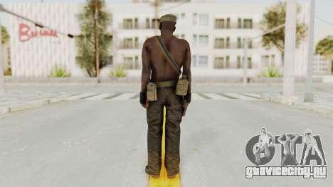 MGSV Phantom Pain Rogue Coyote Soldier Naked v2 для GTA San Andreas третий скриншот