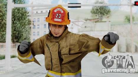 GTA 5 Fireman LS для GTA San Andreas