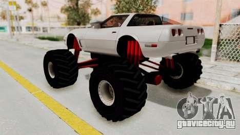 Chevrolet Corvette C4 Monster Truck для GTA San Andreas вид справа