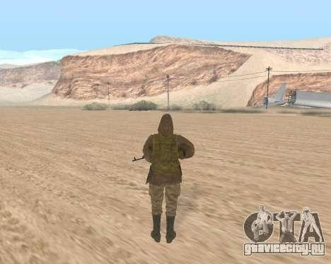 Soviet Sniper для GTA San Andreas второй скриншот