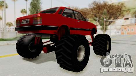 Chevrolet Chevette SL 1988 Monster Truck для GTA San Andreas вид слева
