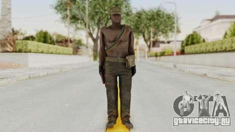 MGSV Phantom Pain Rogue Coyote Soldier Naked v2 для GTA San Andreas второй скриншот