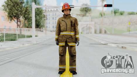 GTA 5 Fireman LS для GTA San Andreas второй скриншот