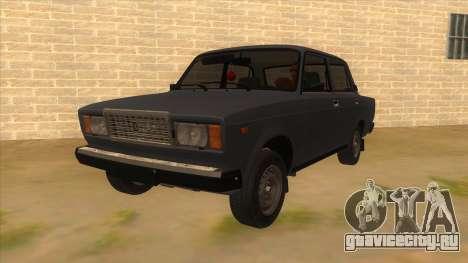 ВАЗ 2107 РОССИЯ для GTA San Andreas