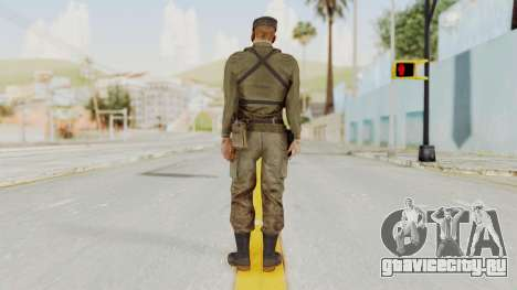 MGSV Phantom Pain Rogue Coyote Soldier Shirt v2 для GTA San Andreas третий скриншот