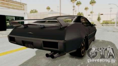 Clover Tunable для GTA San Andreas вид сзади слева