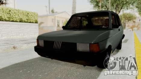 Fiat 147 Vivace для GTA San Andreas вид справа
