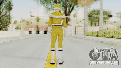 Power Rangers In Space - Yellow для GTA San Andreas третий скриншот