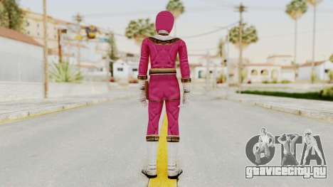 Power Ranger Zeo - Pink для GTA San Andreas третий скриншот