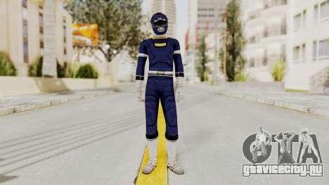 Power Rangers Turbo - Blue для GTA San Andreas второй скриншот