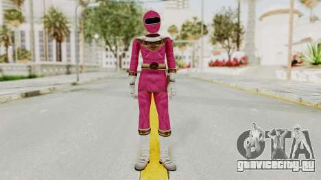 Power Ranger Zeo - Pink для GTA San Andreas второй скриншот