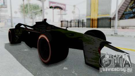 Bad to the Blade from Hot Wheels для GTA San Andreas вид справа