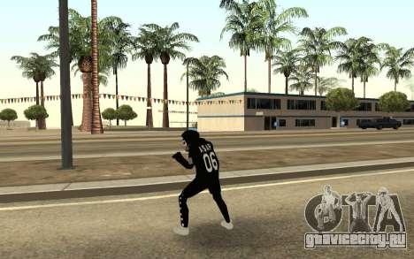 Новый бомж v4 для GTA San Andreas третий скриншот