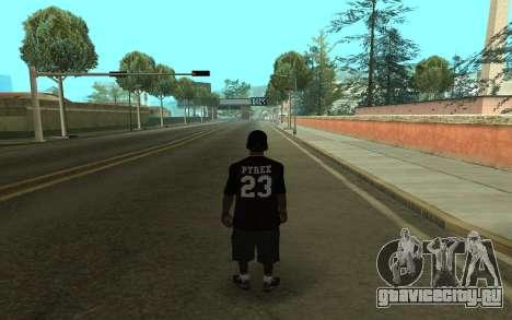Grove Gang Skin для GTA San Andreas второй скриншот