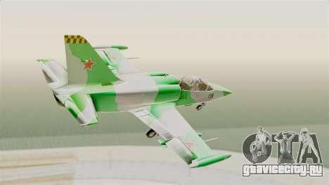 LCA L-39 Albatros для GTA San Andreas вид справа