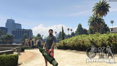 Weapon Variety 0.9 для GTA 5 восьмой скриншот