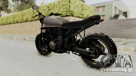 Mad Max Inspiration Bike для GTA San Andreas вид слева