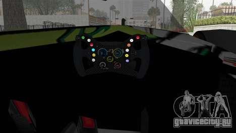 Bad to the Blade from Hot Wheels для GTA San Andreas вид изнутри