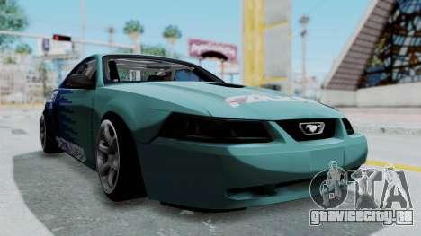 Ford Mustang 1999 Drift Falken для GTA San Andreas вид справа